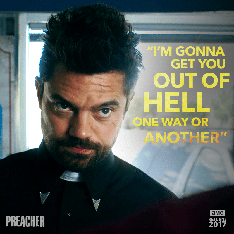 SDCC 2017 – 'Preacher' Season 2 Introduces The Grail In The Latest Trailer!