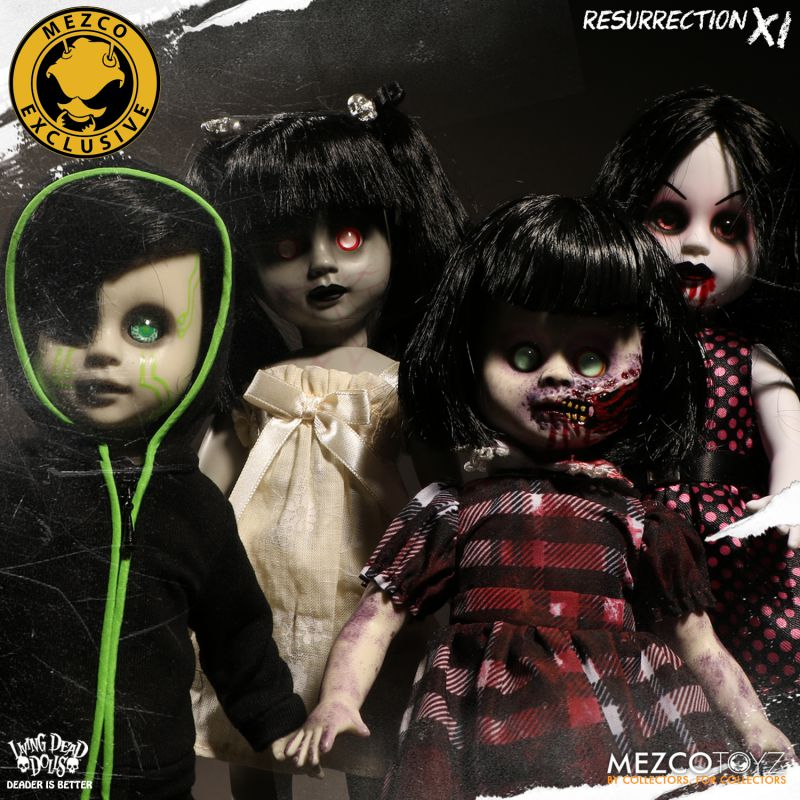 Mezco Toys Introduces Us To 'The Living Dead Dolls Resurrection Series XI!'