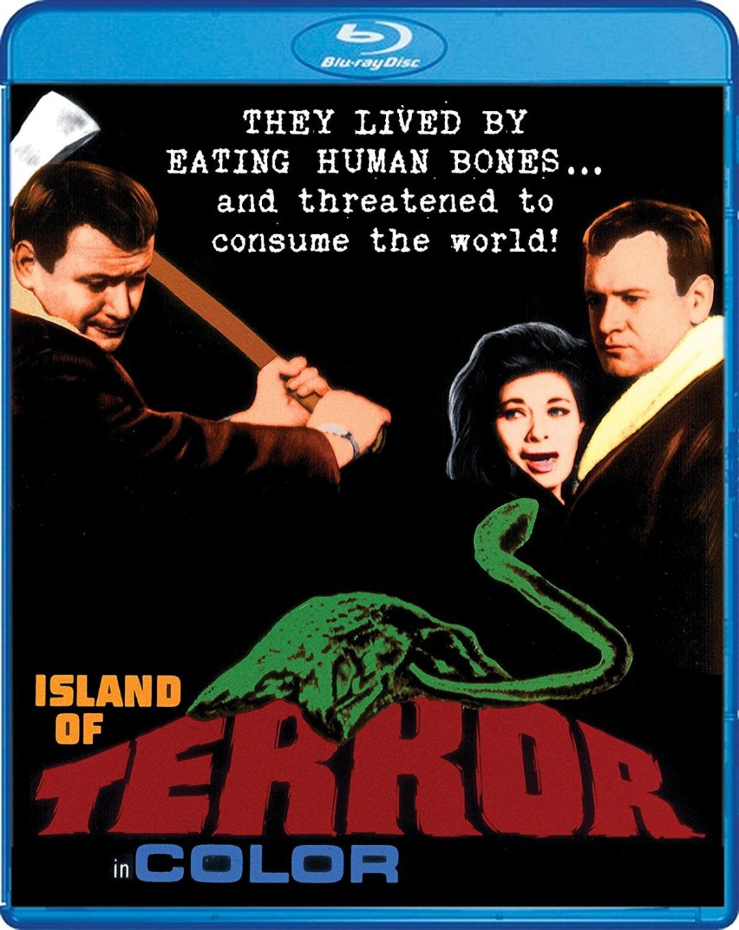 Island of Terror – Blu-ray/DVD Review