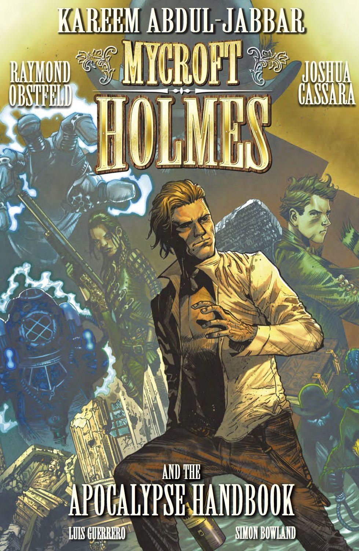 Book Trailer: Kareem Abdul-Jabbar's New Graphic Novel, 'Mycroft Holmes and The Apocalypse Handbook'