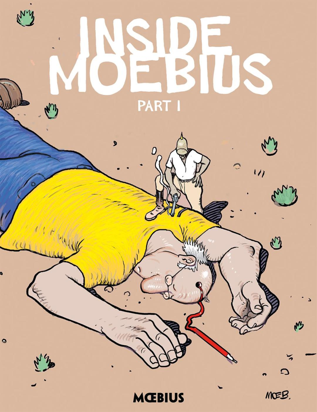 Dark Horse and Moebius Production Add to the Moebius Library