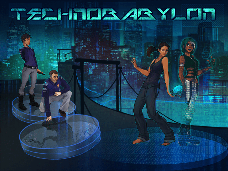 Cyberpunk Adventure Game 'Technobabylon' Now Out on iPhone & iPad