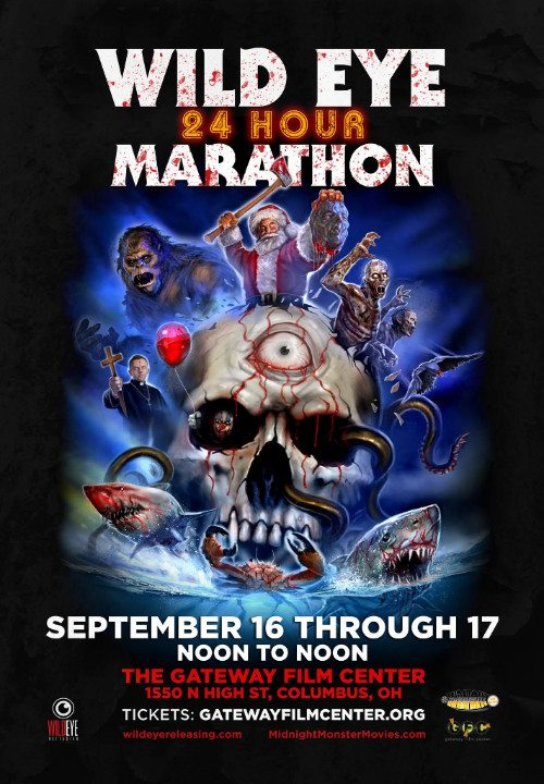 24-Hour Horror Movie Marathon Announced by Wild Eye Releasing/Monster Movies