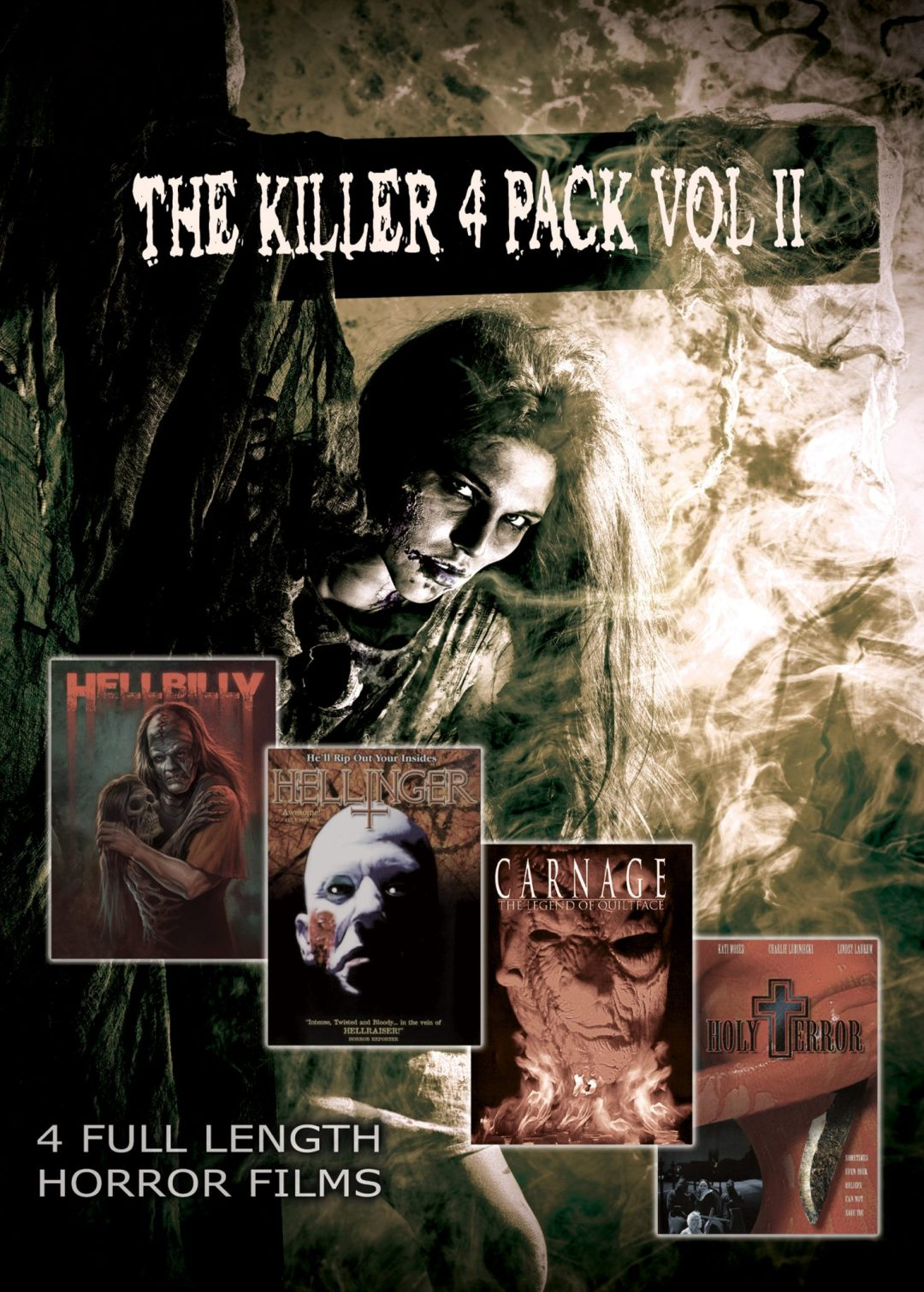 SGL Entertainment Releases 'The Killer 4 Pack Vol II' on DVD