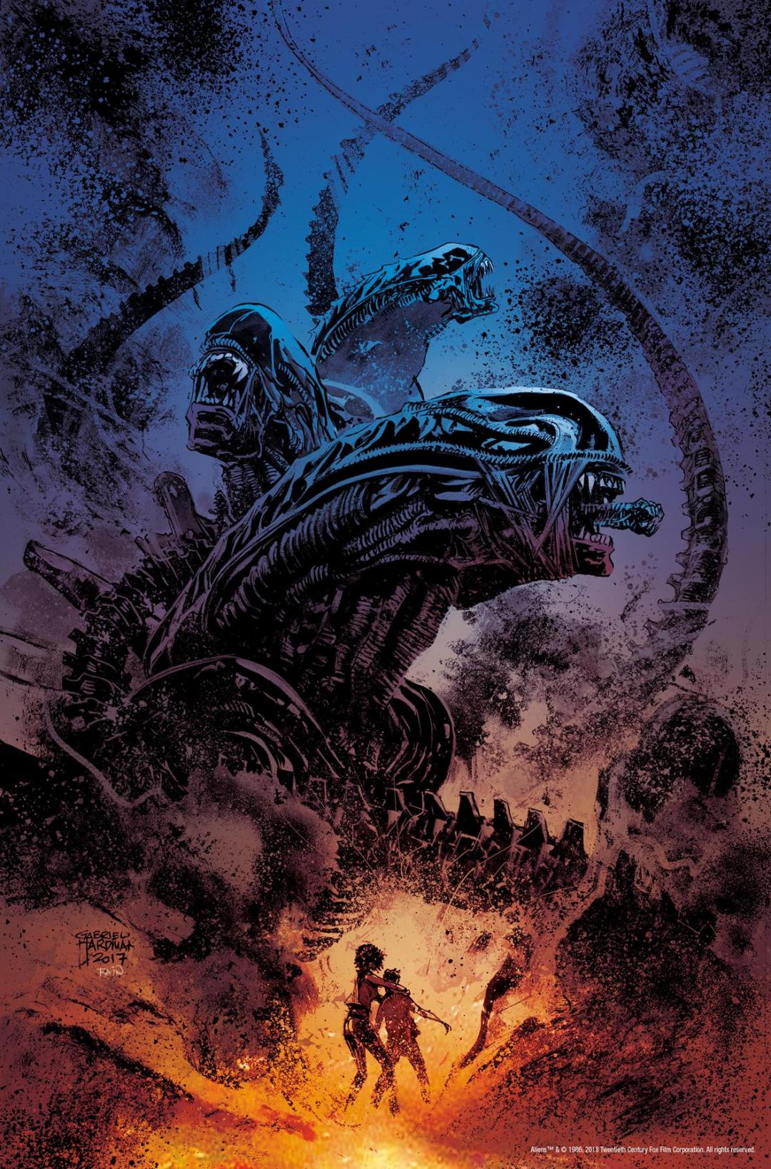 'Aliens: Dust to Dust' Infests Comics Shops this Spring