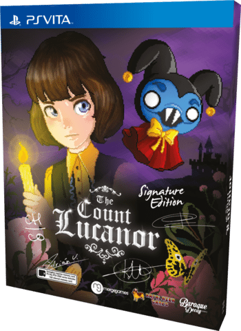 'The Count Lucanor' – A Deliciously Dark Action Adventure out Now on PSVita