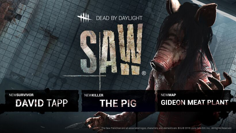 """'Dead By Daylight' Shares a Teaser for """"The Saw Chapter"""""""