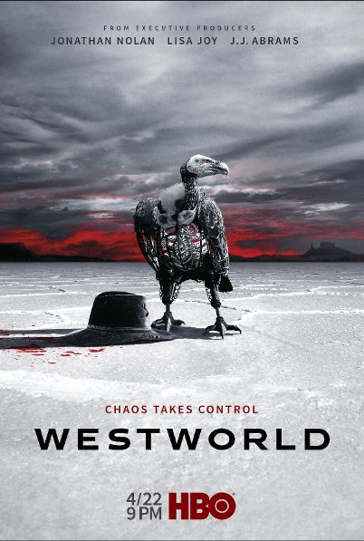 """In the Season 2 Poster for 'Westworld,' """"Chaos Takes Control"""""""