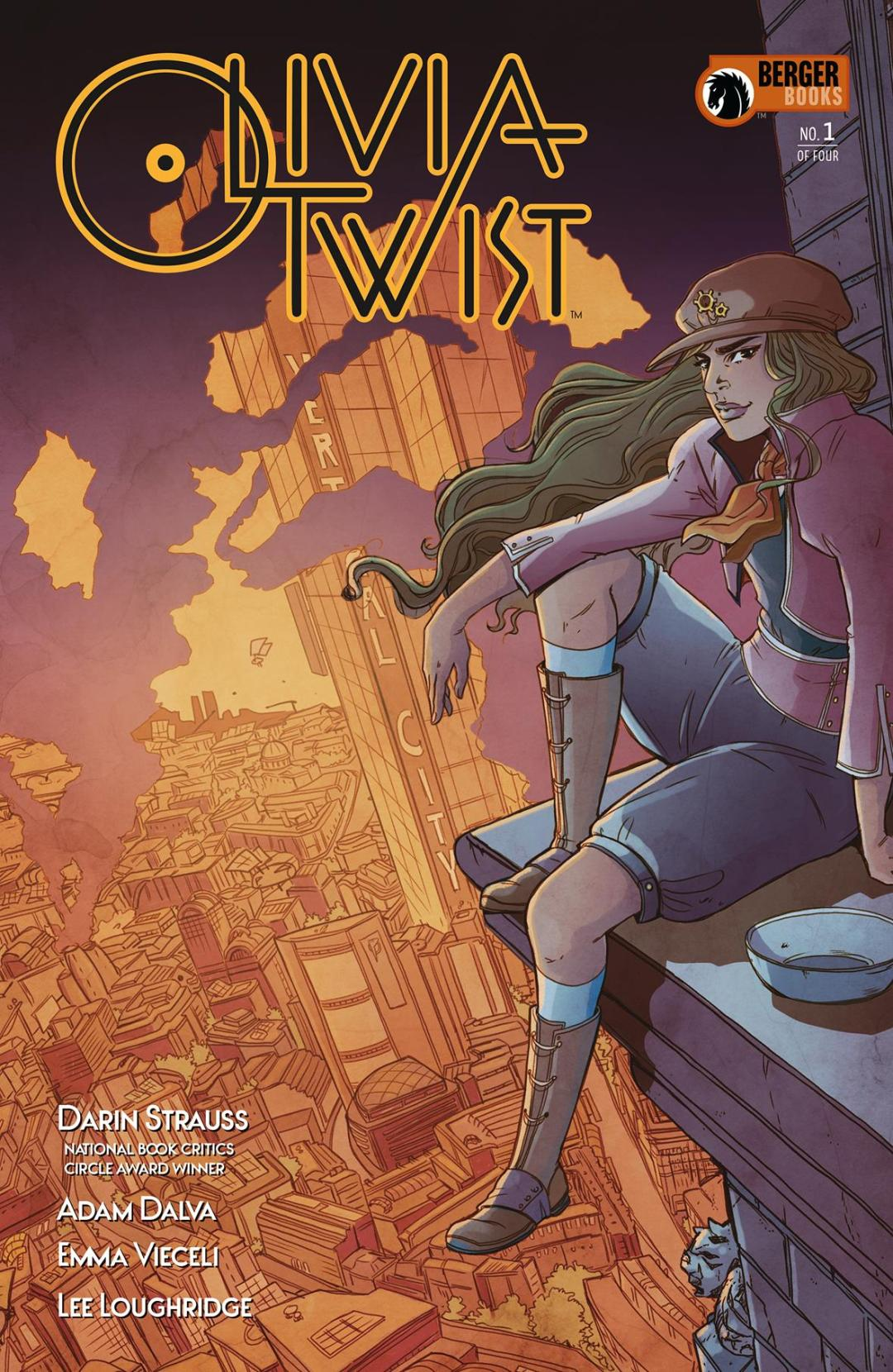 Berger Books to Publish a Dystopian Spin on the Dickens' Classic in 'Olivia Twist'