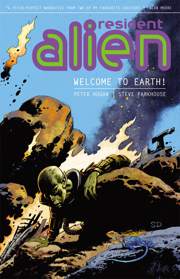 Dark Horse Comics Series 'Resident Alien' Picked Up as a Pilot for Syfy