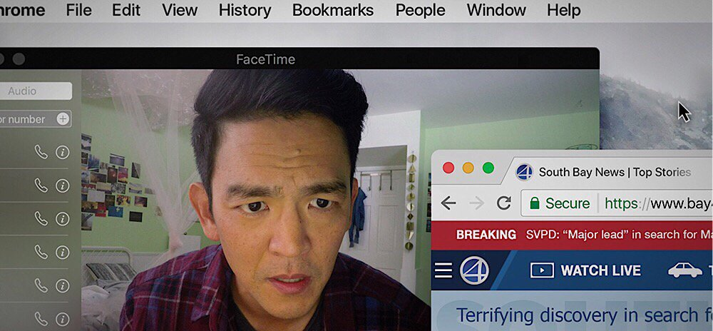 Online Sleuthing Takes Place in the Official Trailer for 'Searching,' Starring John Cho