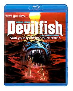 'Monster Shark' (1984) aka 'Devilfish' Available on Blu-ray and DVD July 3rd