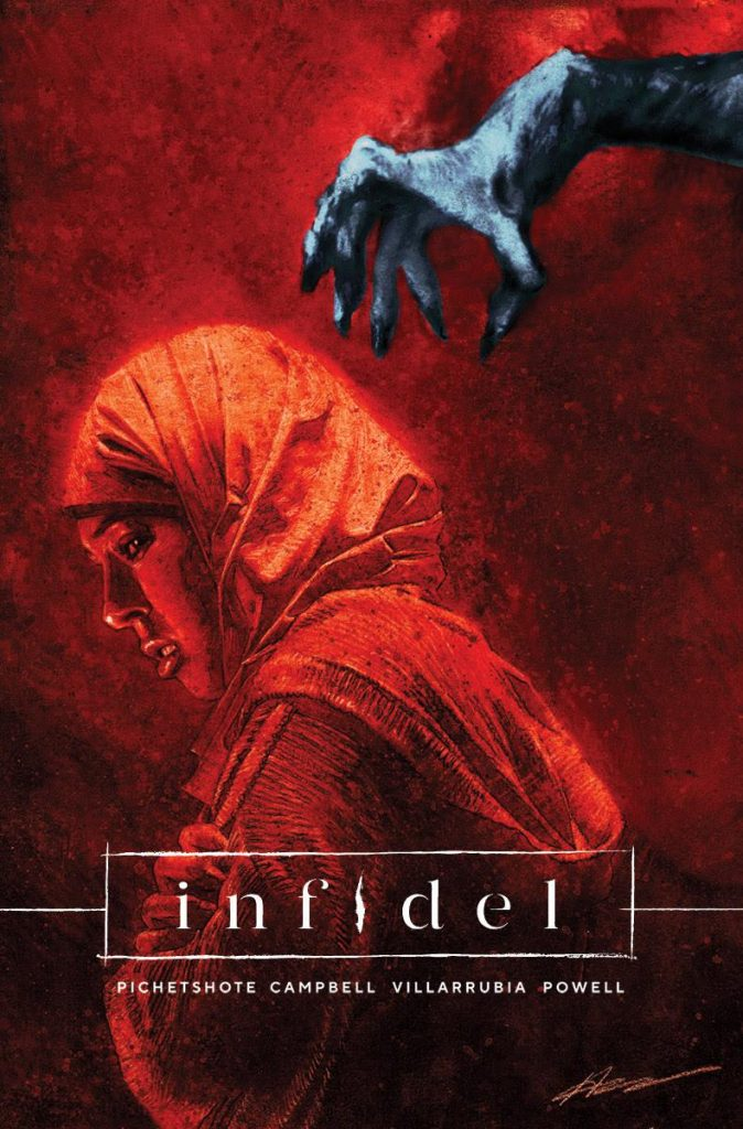 Trade Paperback of Horror Comic Book Series 'Infidel' Coming This September from Image Comics