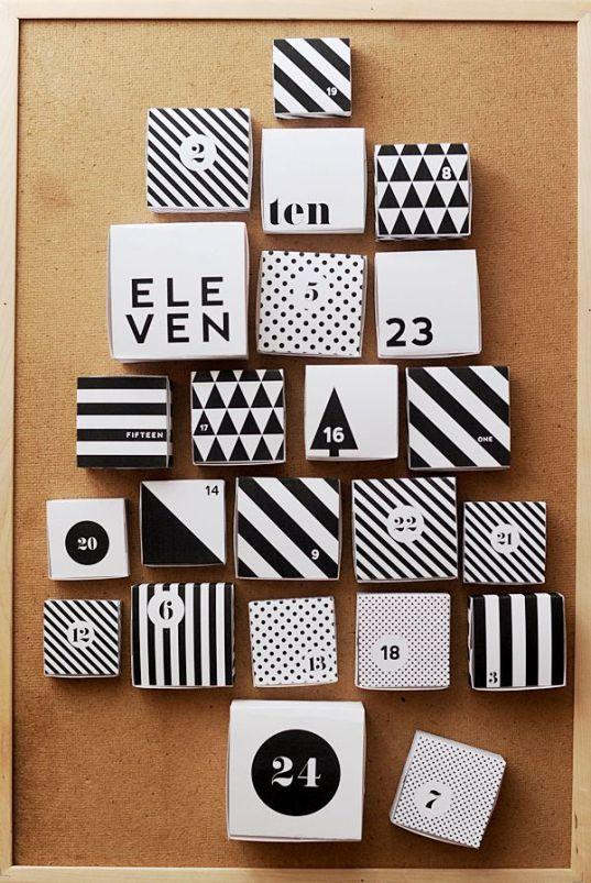 DIY Calendrier de l'Avent // Hëllø Blogzine www.hello-hello.fr