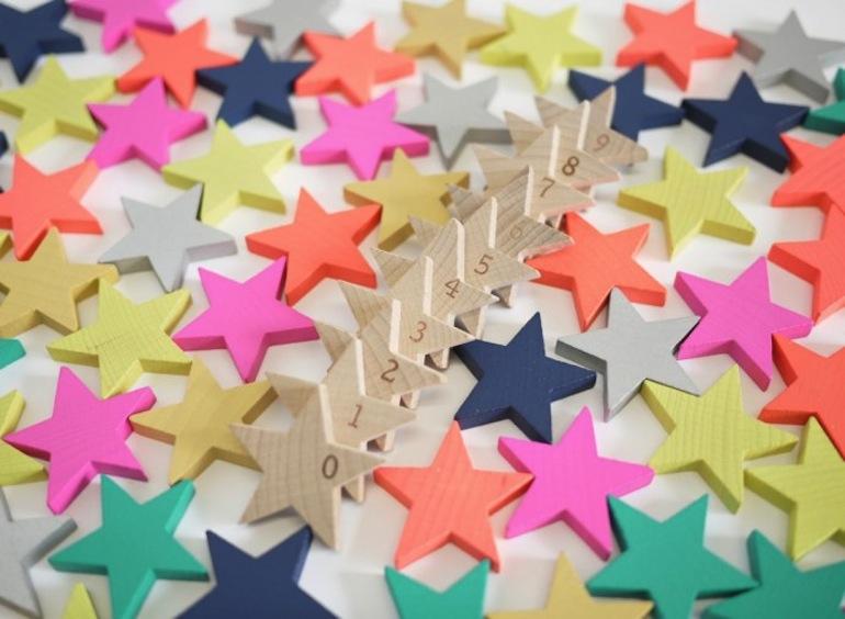 Domino étoile // Hëllø Blogzine www.hello-hello.fr
