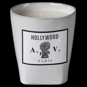 Bougie Hollywood, 80€, Astier de Vilatte