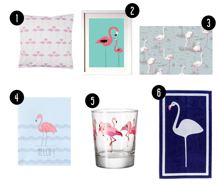 Tendance Flamingo // Hëllø Blogzine www.hello-hello.fr #flamingo