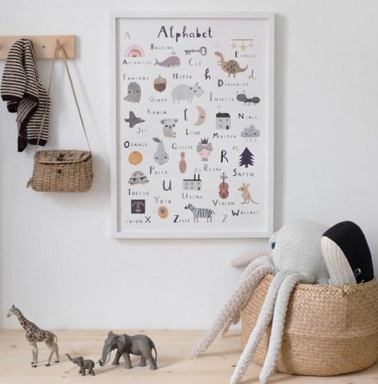 De jolis abécédaires pour enfant // Hellø Blogzine -blog déco lifestyle - www.hello-hello.fr