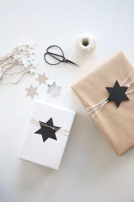 Paquet cadeau kraft