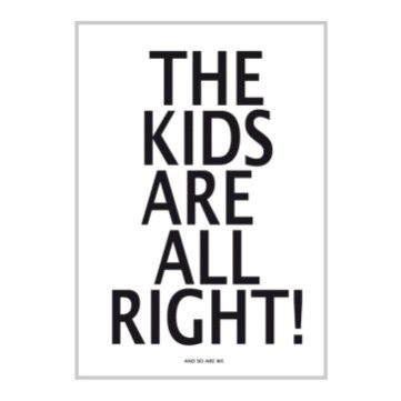 Poster kids are alright Abacuskids