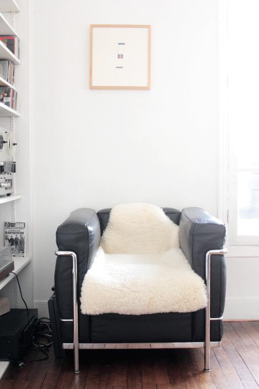LC2 Le Corbusier peau mouton