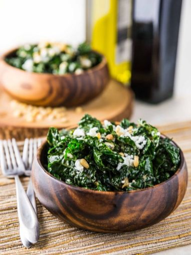 salade-chaude-kale-fromage-chevre