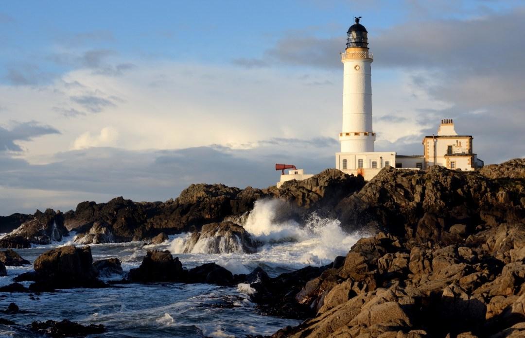Corsewall Lighthouse phare en écosse Hôtel insolite