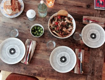 Table esprit Kinfolk