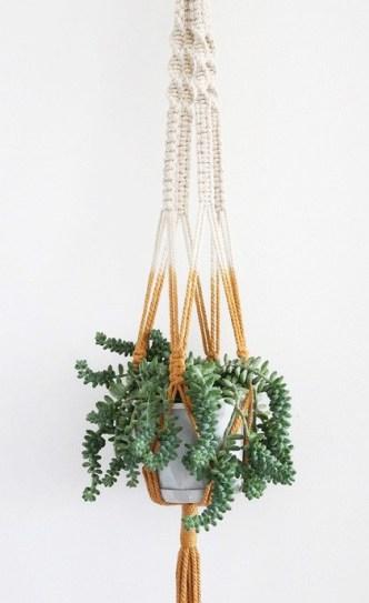 plante-suspendue-macrame