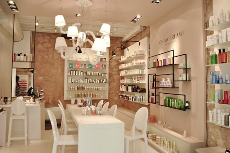 Oh my cream beauty concept store paris