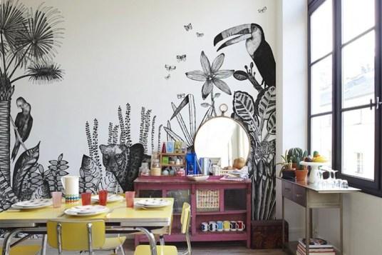 papier peint créatif et contemporain