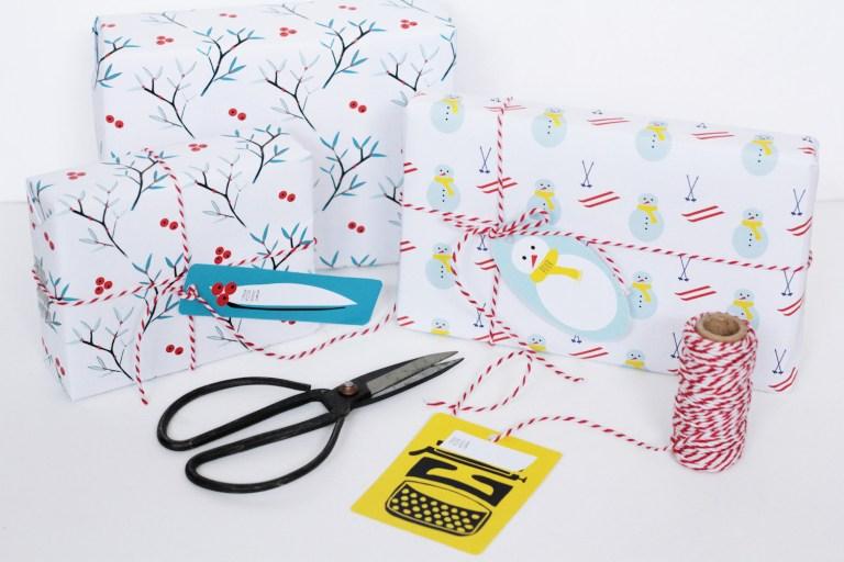 Free Download - Wrapping Paper © Monsieur Papier pour Hëllø Blogzine // Hëllø Blogzine www.hello-hello.fr
