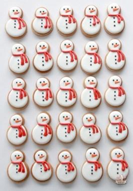 biscuits bonhomme de neige noel sweetopia