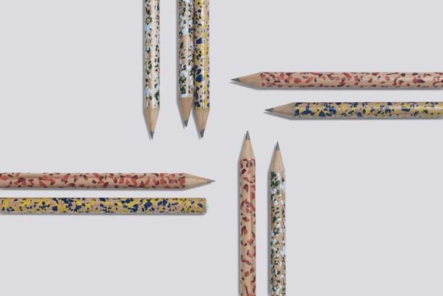 Terrazzo pencil hay tendance mouchete /Hëllø Blogzine - www.hello-hello.fr