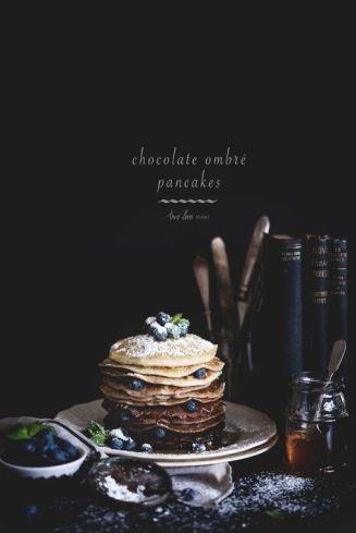 Pancakes // Hëllø Blogzine blog deco & lifestyle www.hello-hello.fr #pancakes #chocolat