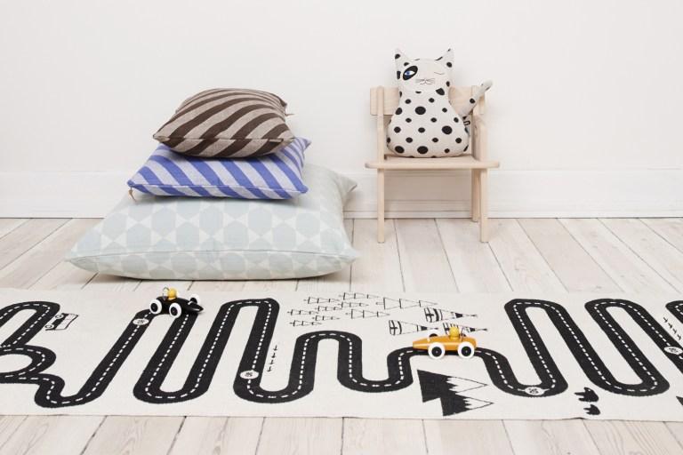 tapis fun et graphiques pour les kids