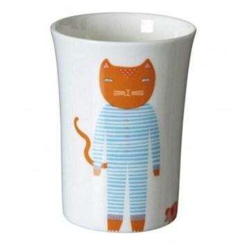 gobelet en ceramique chat Donna Wilson// Hëllø Blogzine - www.hello-hello.fr