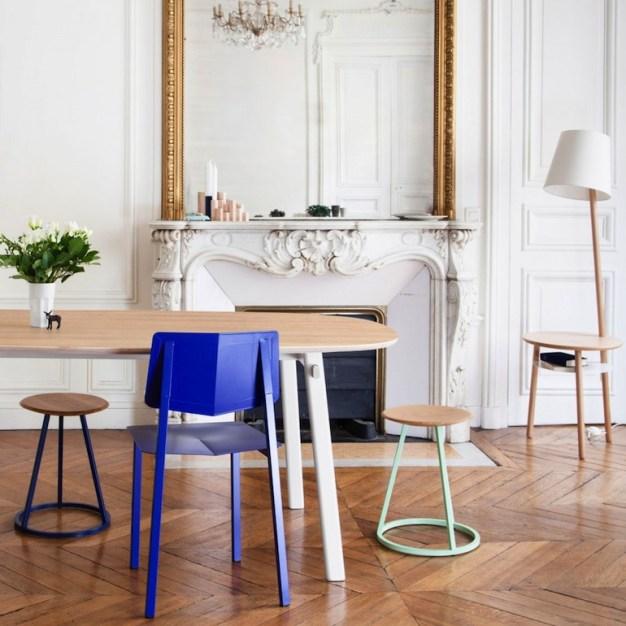 chaise rosalie bleu klein Harto //Hëllø Blogzine blog deco & lifestyle www.hello-hello.fr