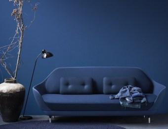 tendance bleu Canape Jaime Hayon Fritz Hansen //Hëllø Blogzine blog deco & lifestyle www.hello-hello.fr