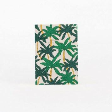 Cahier palmiers Woouf // Hëllø Blogzine Lifestyle - www.hello-hello.fr