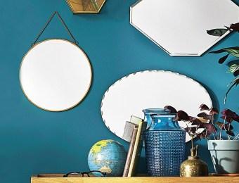 Miroir ovale biseauté // Hëllø Blogzine blog deco & lifestyle www.hello-hello.fr