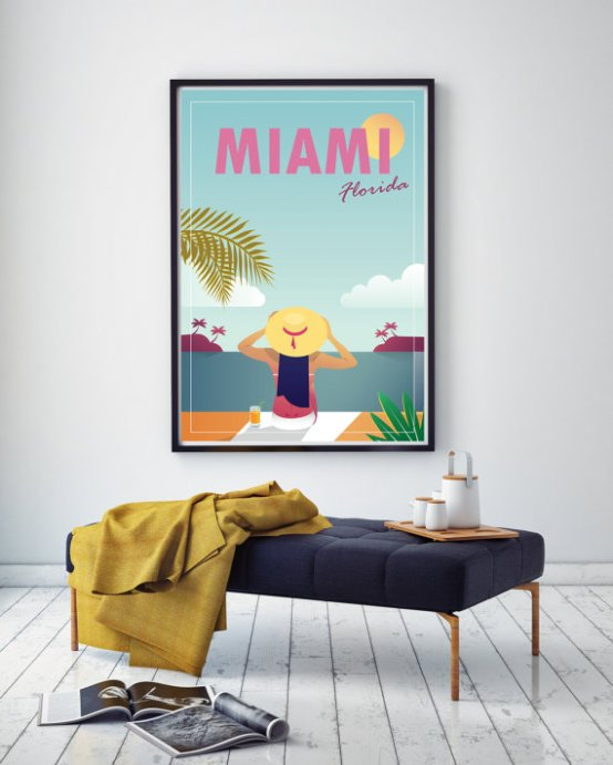 Idées Cadeaux Miami // Hëllø Blogzine blog deco & lifestyle www.hello-hello.fr