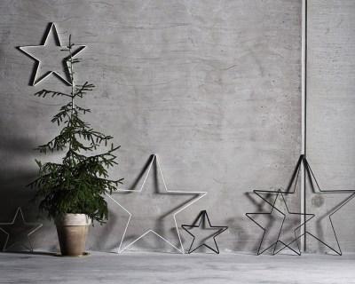 Etoile en fer pour un Noël scandinave // Hëllø Blogzine blog deco & lifestyle www.hello-hello.fr #couronne #noel #christmas