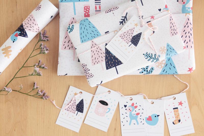 Free Download - Papier Cadeau Téléchargeable Gratuitement ©Oelwein // Hëllø Blogzine blog deco & lifestyle www.hello-hello.fr