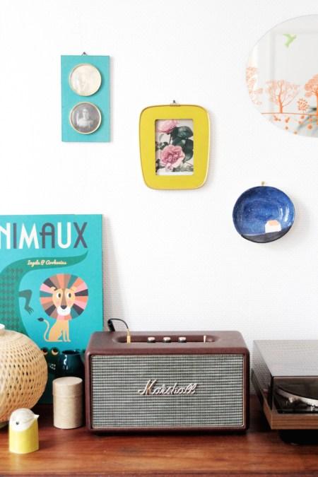 Appartement Créatif Parisien - Emilie Capman, Klin d'Oeil // Hëllø Blogzine blog deco & lifestyle www.hello-hello.fr #creatif #paris #klindoeil