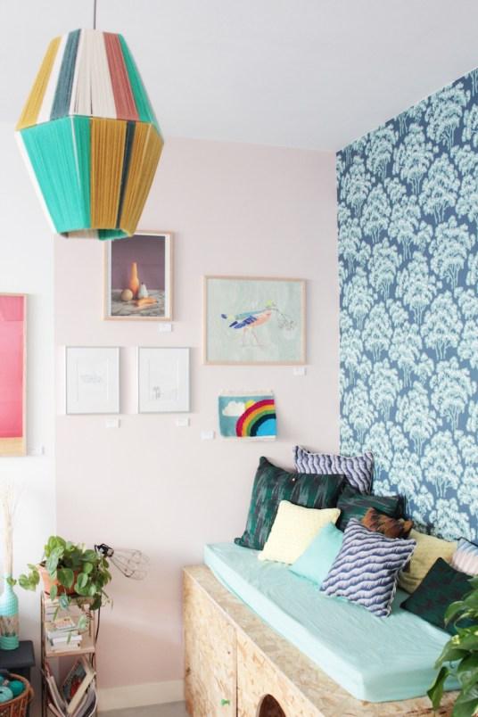 l 39 int rieur cr atif et vintage d 39 emilie co fondatrice de la galerie klin d 39 oeil. Black Bedroom Furniture Sets. Home Design Ideas