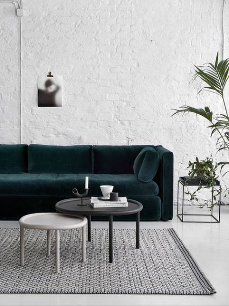 Tendances Déco 2017 // Hëllø Blogzine blog deco & lifestyle www.hello-hello.fr #deco #velours #trends