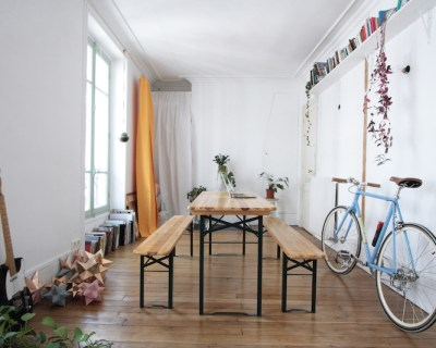 Appartement Parisien Green // Hëllø Blogzine blog deco & lifestyle www.hello-hello.fr #green #urbanjungle