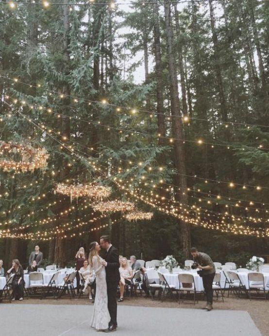 Déco Mariage : Des Idées à Piquer pour chez Soi // Hëllø Blogzine blog deco & lifestyle www.hello-hello.fr #wedding #mariage #deco #stringlights