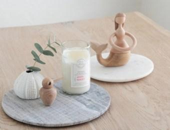 Dessous plats en marbre à petit prix // Hëllø Blogzine blog deco & lifestyle www.hello-hello.fr #marbre